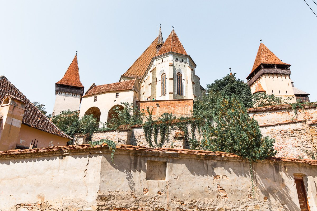 The fortified church in Biertan