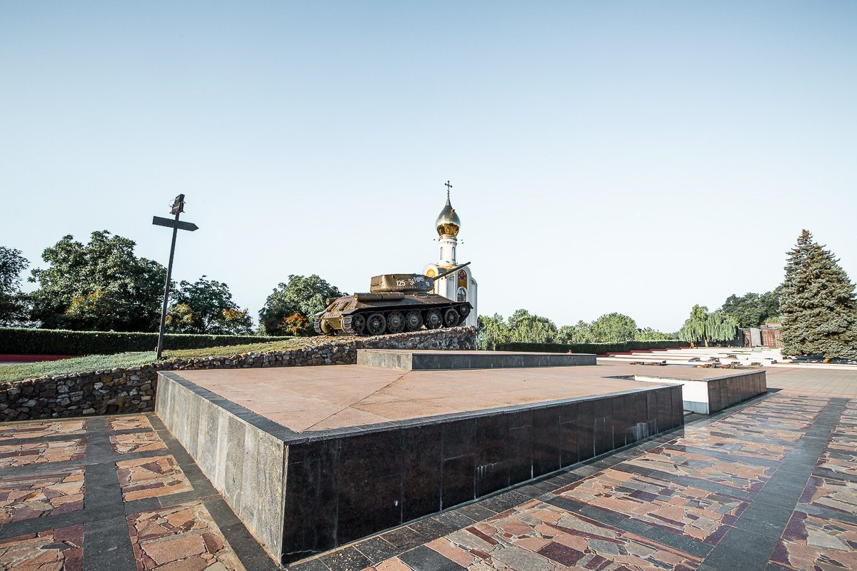 memorial of glory, one of the unique things to do in tiraspol