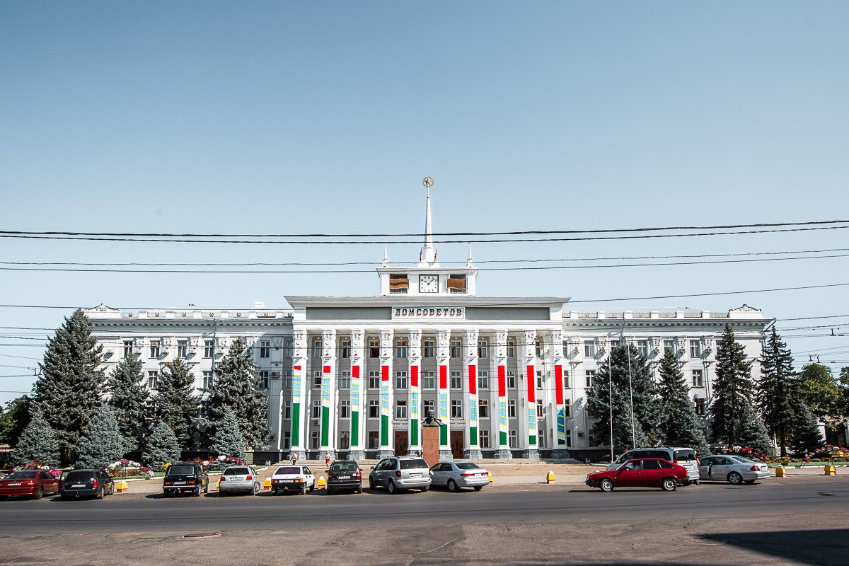 House of Soviets in Tiraspol