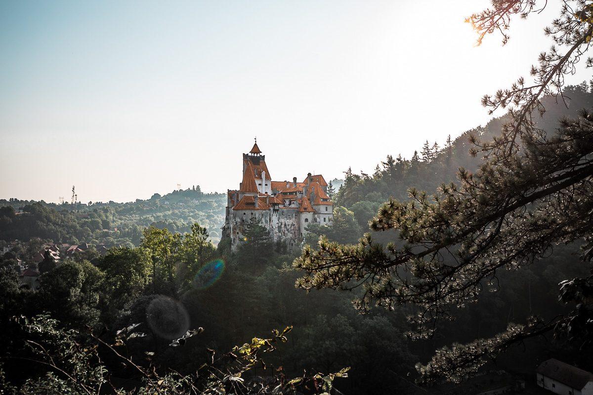 view over Dracula's Castle - Bran Castle