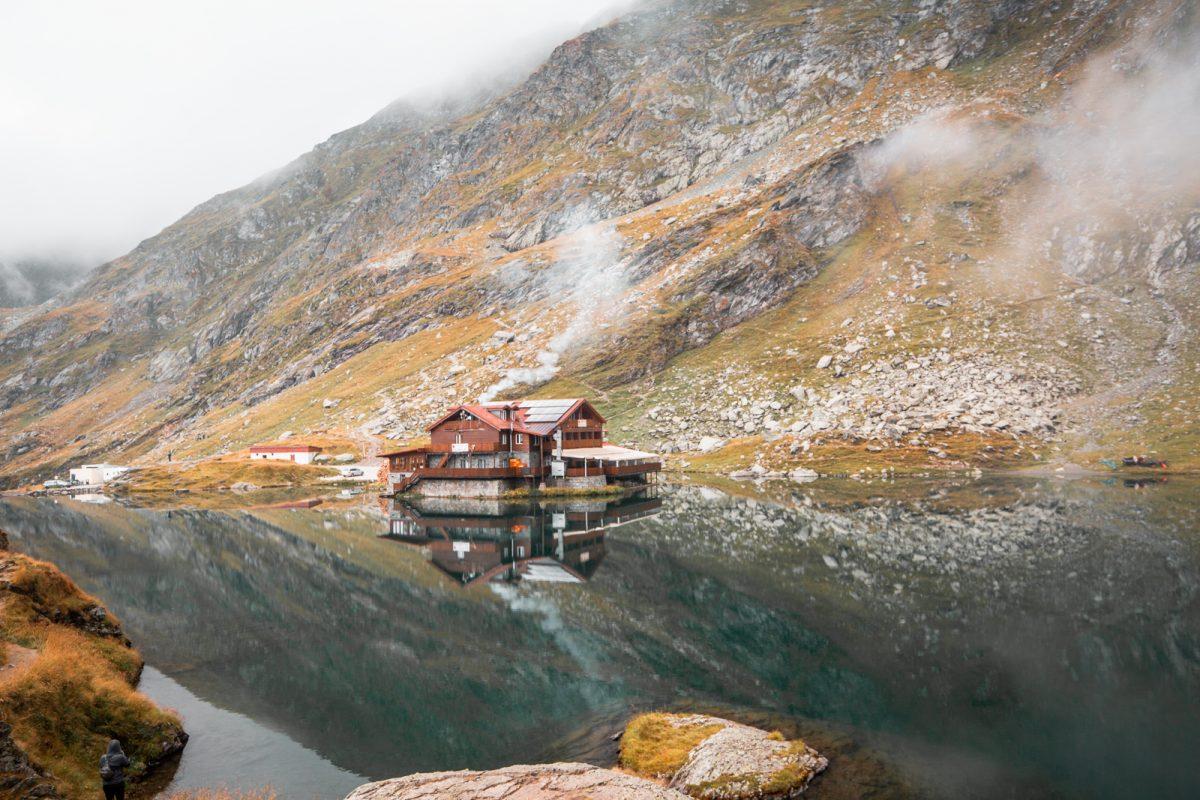 Balea Lake Romania