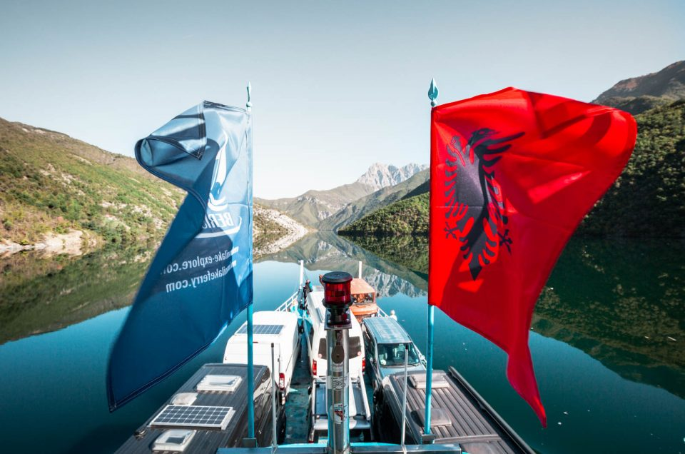 The Komani Lake Ferry - Albania's Most Beautiful Ferry Ride