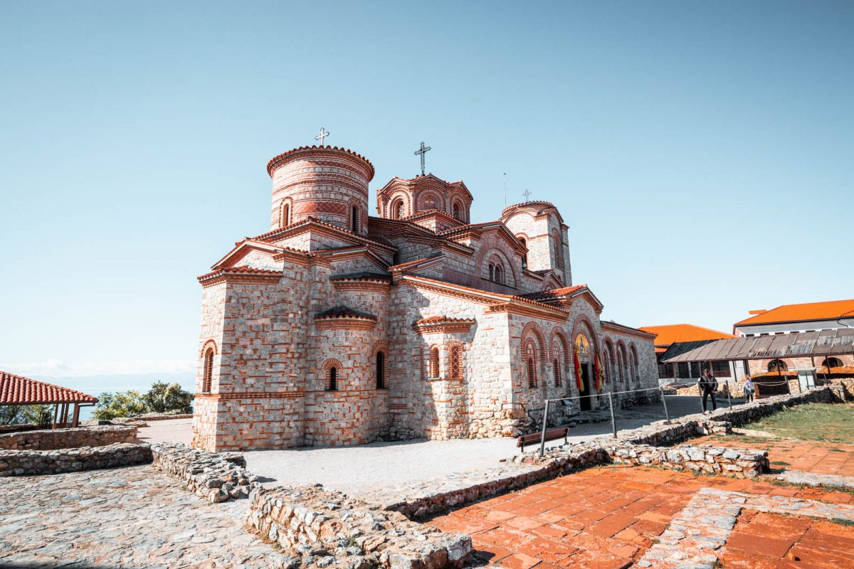 Church of Saints Clement and Panteleimon in Ohrid