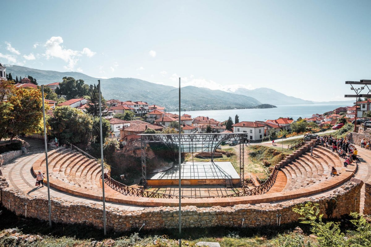 The Ancient Theatre of Ohrid
