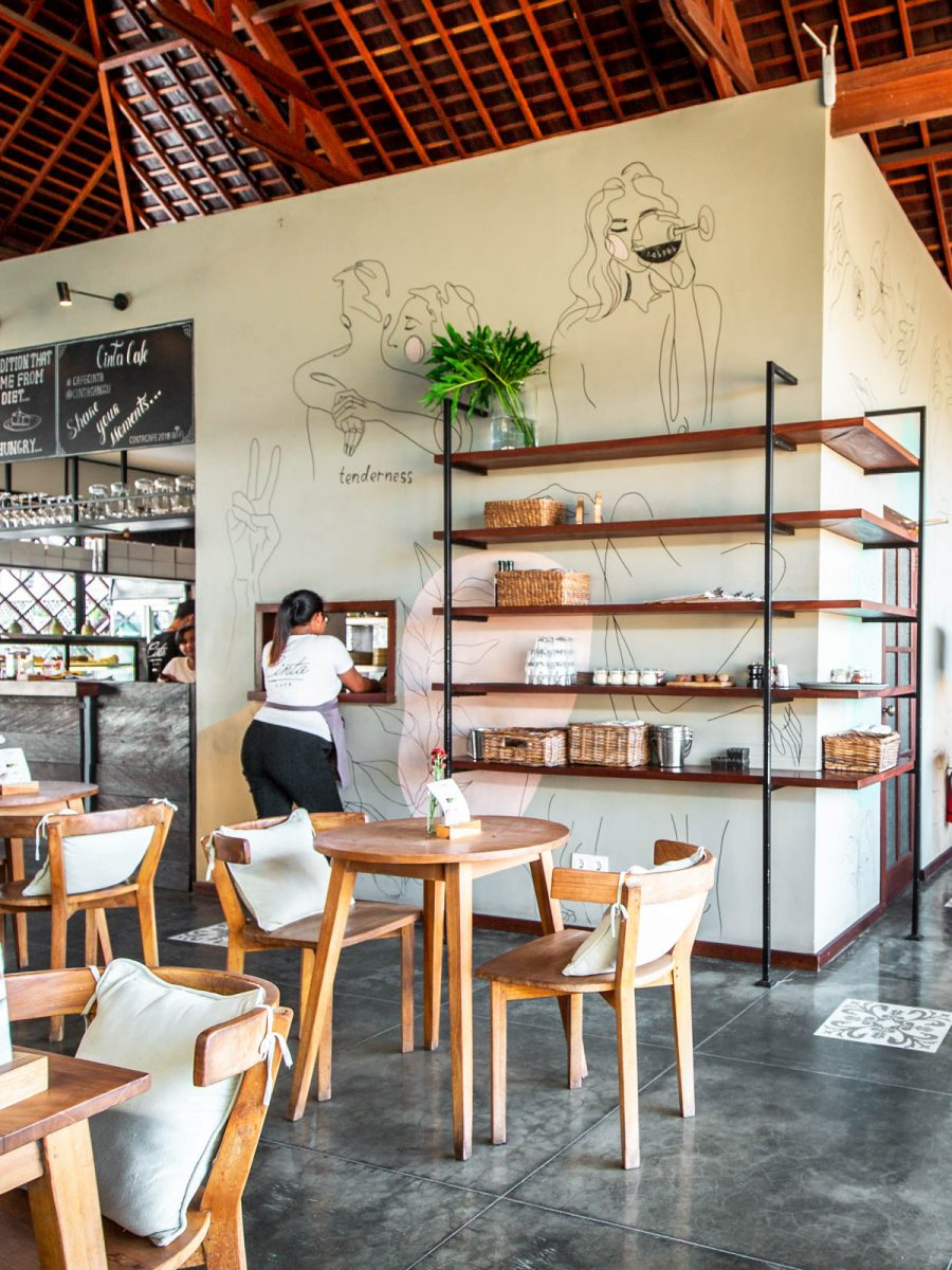 cinta cafe in canggu