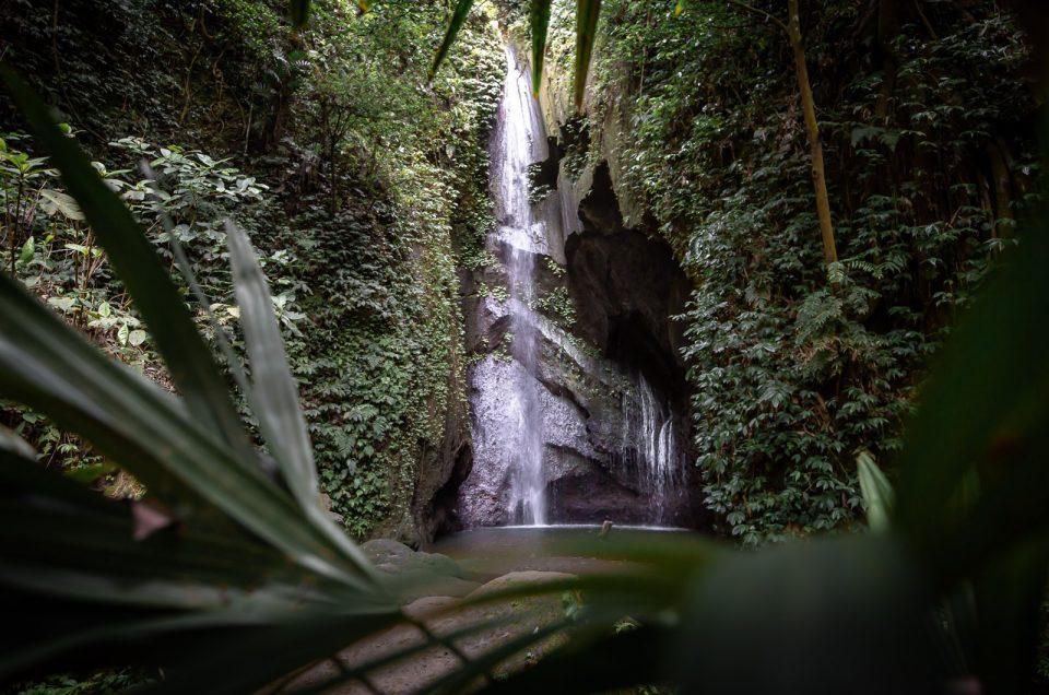 pengempu waterfall in bali