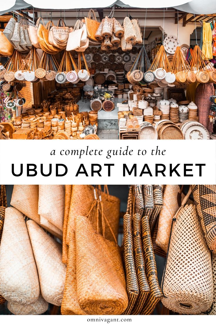 A Complete Guide to The Ubud Art Market | Omnivagant