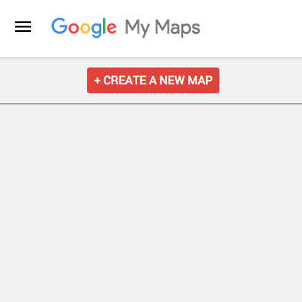 Google My Maps Trip Planning: Create a New Map